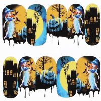 Halloween Water Decal Design 1083
