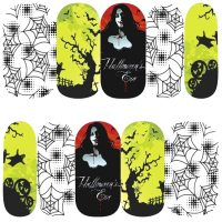 Halloween Water Decal Design 1084