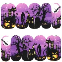 Halloween Water Decal Design 1087