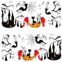 Halloween Water Decal Design 1090