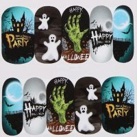 Halloween Water Decal Design 1091