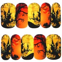 Halloween Water Decal Design 1092