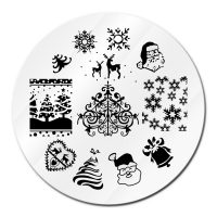 Christmas Stamping Plate Design 08