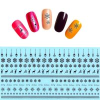 Christmas Water Decal Design 442