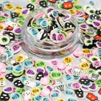 Fimo Halloween Slices