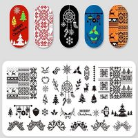 Christmas Stamping Plate Design 10