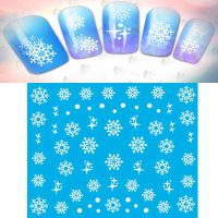 Snowflake Water Decal Design 265