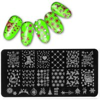 christmas stamping plate design 5