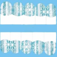 Christmas Snowflake Water Decal Design 211