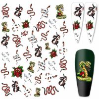 Designer Inspired Snake Stickers Design 324