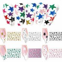 Glitter Stars Stickers