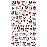 3D Disney Mickey And Minnie Mouse Design 003
