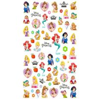 3D Disney Princess Stickers Design 005