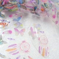 Butterfly And Dreamcatcher Nail Transfer Foil Design 5