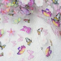 Butterfly Nail Transfer Foil Design 1