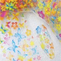 Butterfly Nail Transfer Foil Design 2