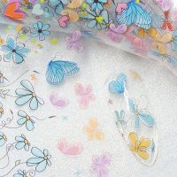 Butterfly Nail Transfer Foil Design 4