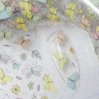 Butterfly Nail Transfer Foil Design 7