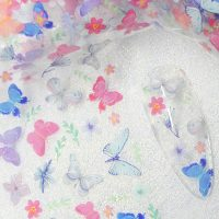 Butterfly Nail Transfer Foil Design 8