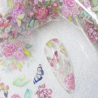 Butterfly Nail Transfer Foil Design 9