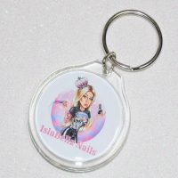 Personalised Custom Made Keyring