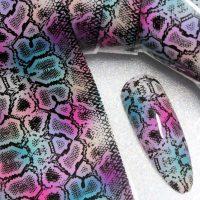 Snake Skin Transfer Foil Design 3