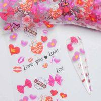 Valentine Transfer Foil Design 5
