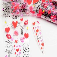 Valentine Transfer Foil Design 7