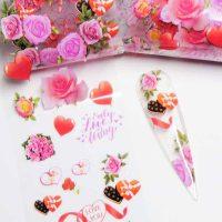 Valentine Transfer Foil Design 8