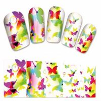Butterfly Water Decal Wrap Design 1421