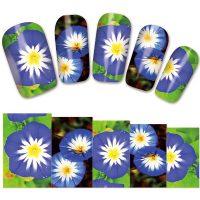 Flower Water Decal Design 1373