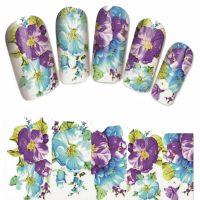 Flower Water Decal Design 1377