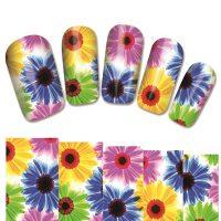 Flower Water Decal Design 1387