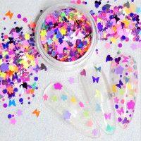 Mothers Day Glitter Shape Mix