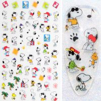 Snoopy Nail Stickers Design 29