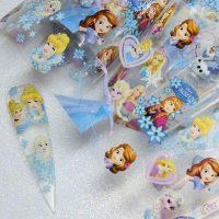Frozen and Barbie Transfer Foil
