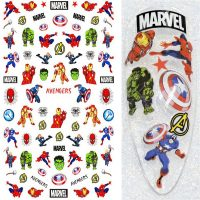 Marvel Super Heroes Nail Art Stickers