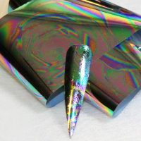 Multicoloured Oil Slick Transfer Foil