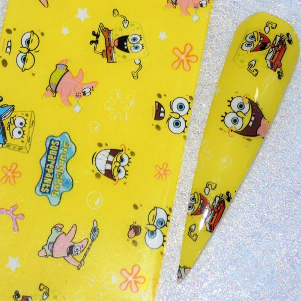 Sponge Bob Transfer Foil