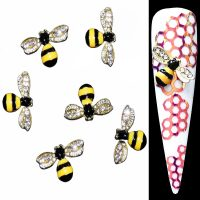 Bumble Bee Crystal Alloy Design 1