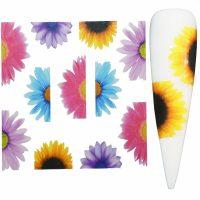 Flower Water Decal Design 983