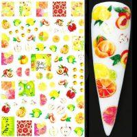 Fruit Nail Sticker Design 644