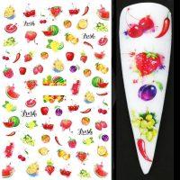 Fruit Nail Sticker Design 646