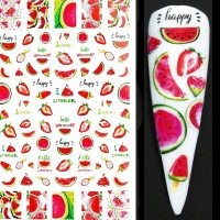 Fruit Nail Stickers Design 645