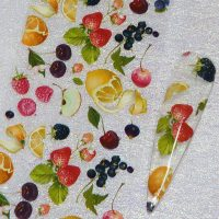 Fruit Nail Transfer Foil Design 2
