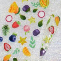 Fruit Nail Transfer Foil Design 4