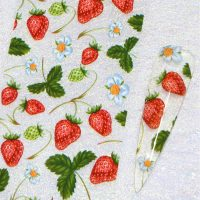 Fruit Nail Transfer Foil Design 5