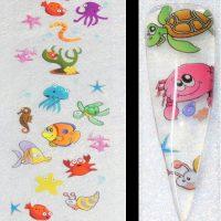 Sealife Ocean Fish Transfer Foil Design 2