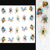 Bumble Bee Water Decal Design 055