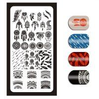 Dreamcatcher Stamping Plate Design 23